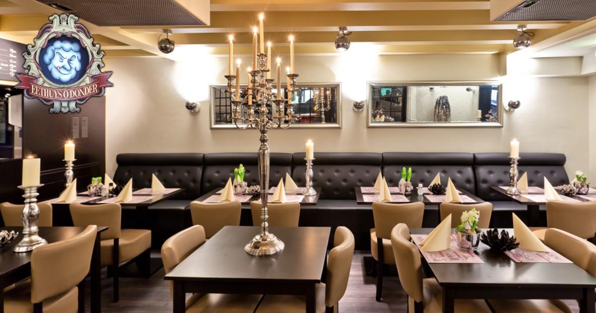 Eten In Huizen : Eethuys Õ donder restaurant huizen t gooi